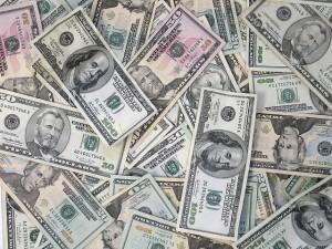 Dollars Bills Everywhere Image cmedium_61056391