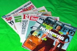 Variety of Magazines