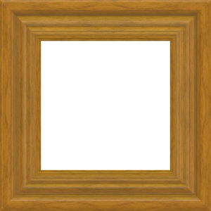 Picture of a brown wooden frame