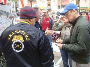 Photo of Teamster's Union rep