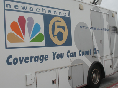 NewsChannel 5 Truck